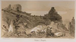 Άποψη του Θεάτρου. Comte Joseph d' Estourmel. 1848
