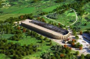 Virtual reconstruction of the Augustan Stadium