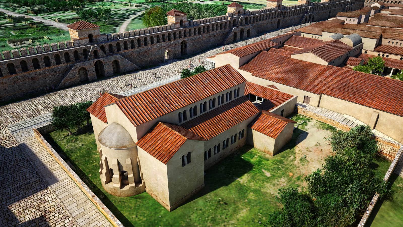 Virtual reconstruction of Basilica A