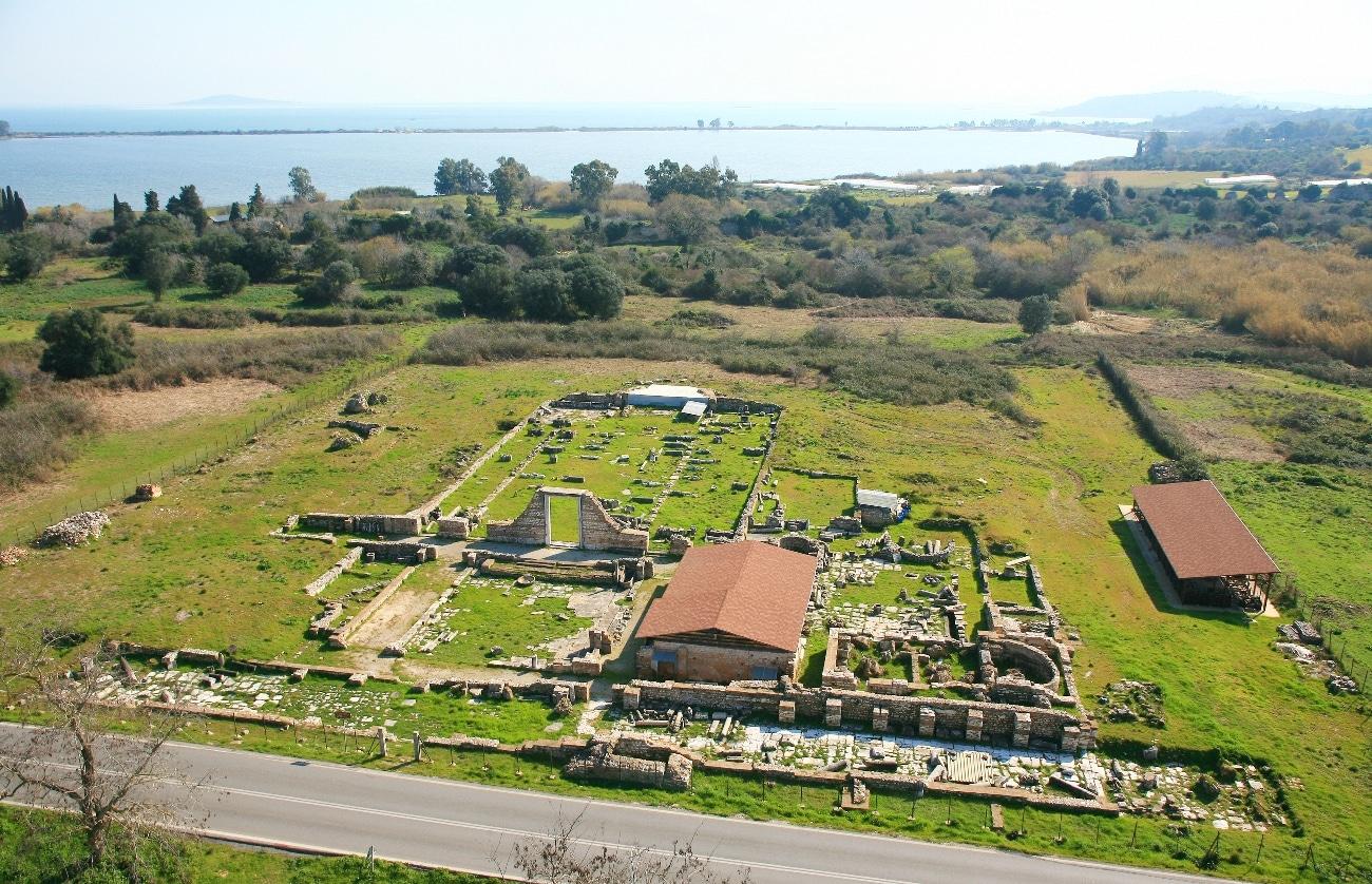 Aerial photo of Basilica B