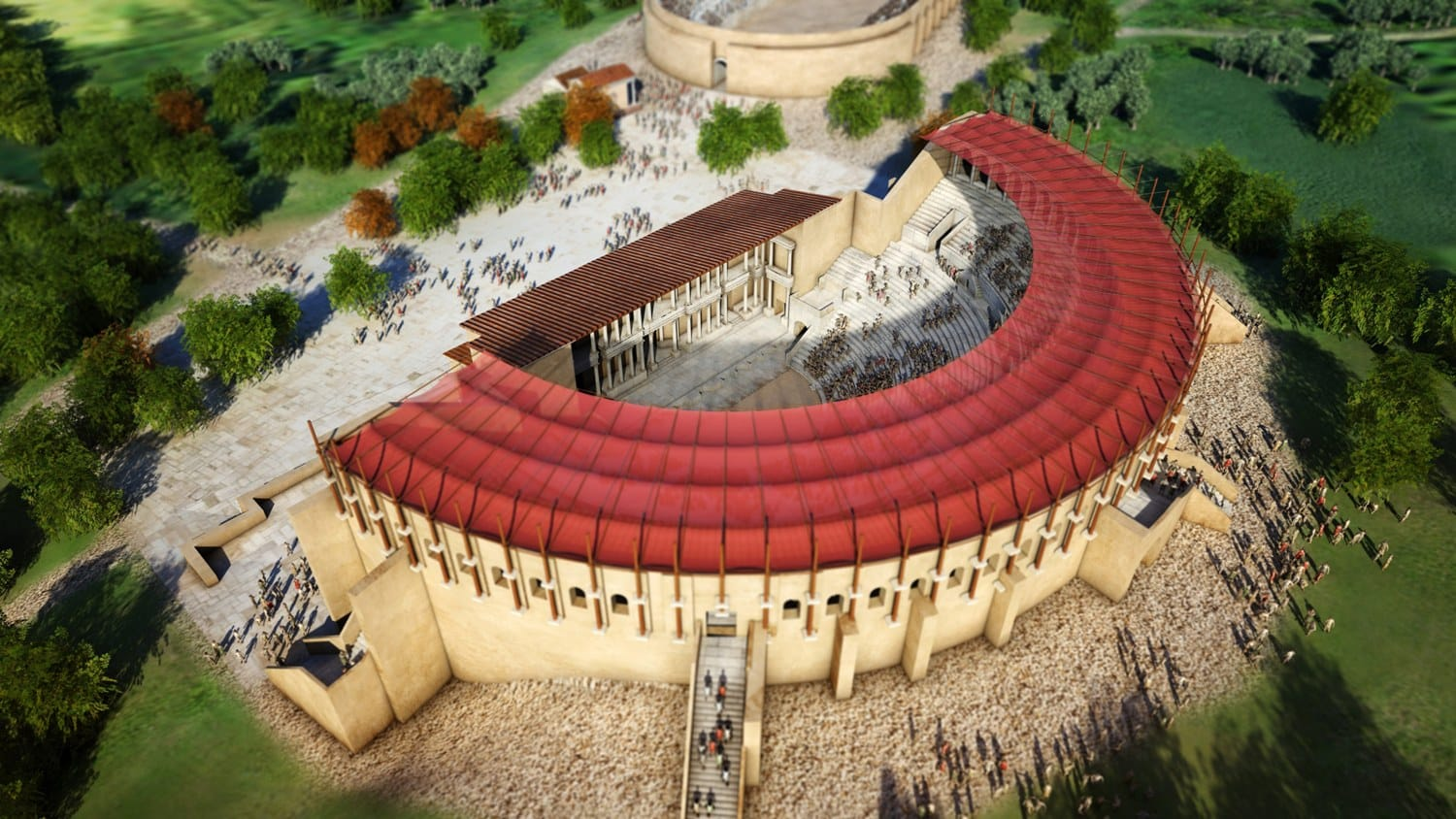 Virtual reconstruction of the Theater