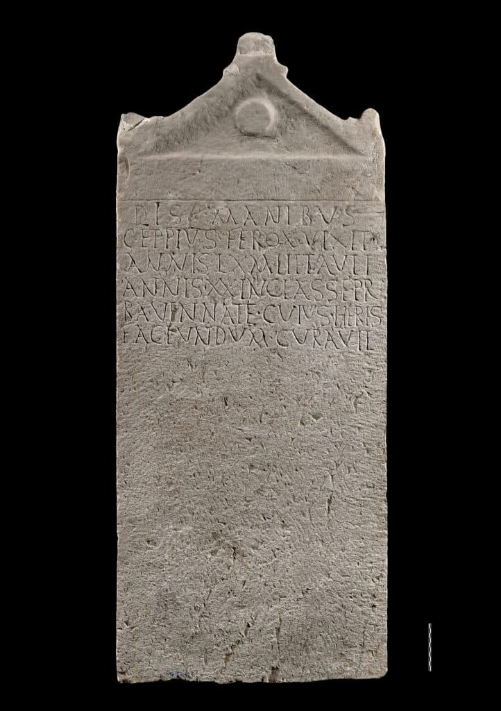 The tomb stele of sailor Ferox